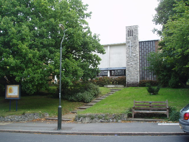 St. Barnabas's Anglican Church, Higher Drive, Purley, Surrey - geograph.org.uk - 55557
