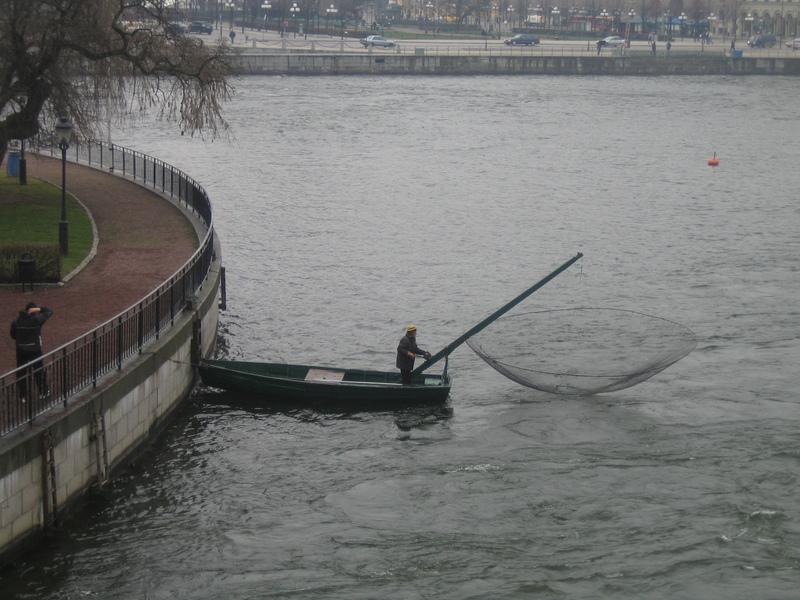 Зыбка для рыбалки