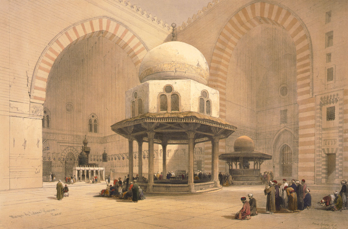 File:Sultan Hassan Mosque David Roberts