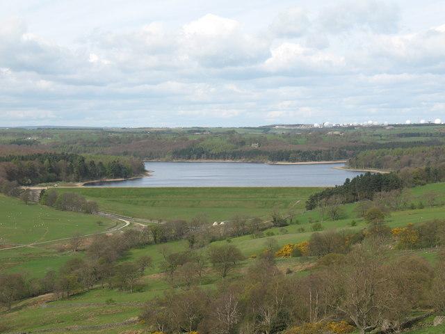 Swinsty Reservoir Dam - geograph.org.uk - 405900