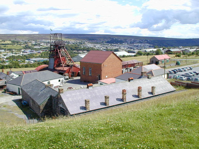 The Big Pit colliery museum - geograph.org.uk - 436091