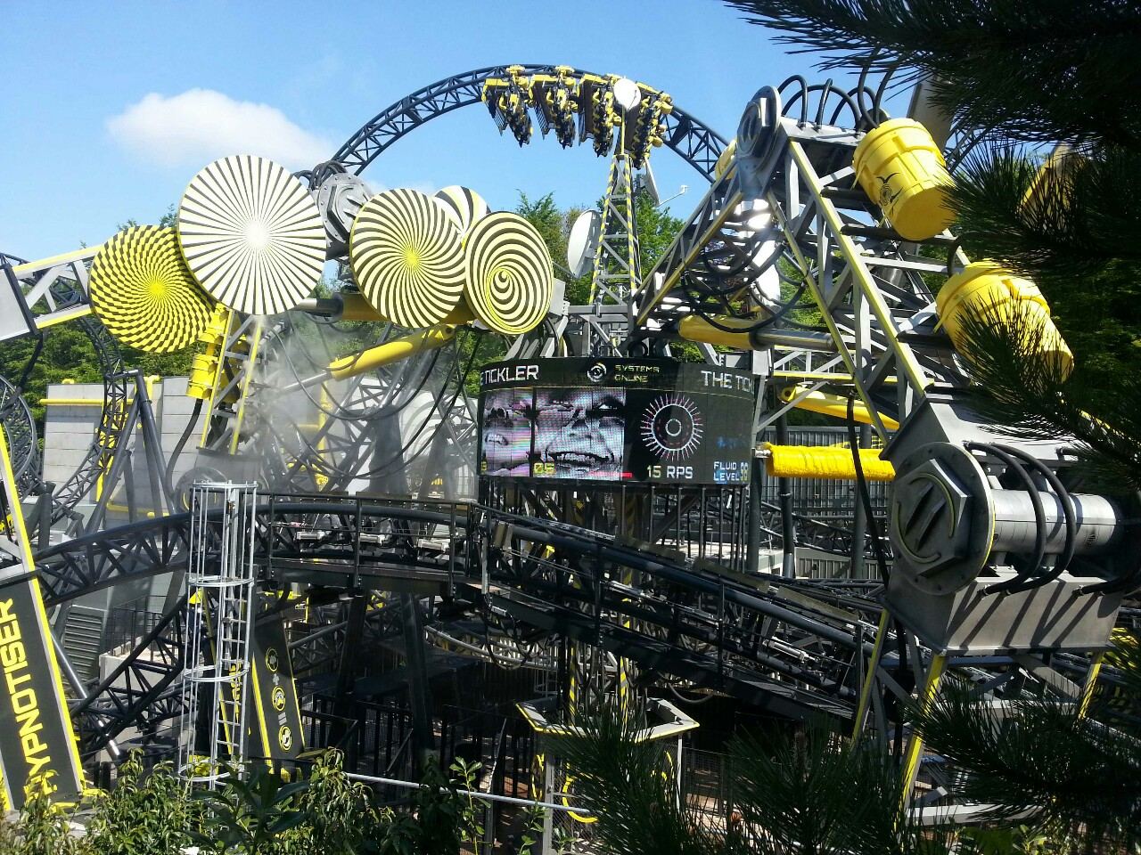 Image result for alton towers smiler
