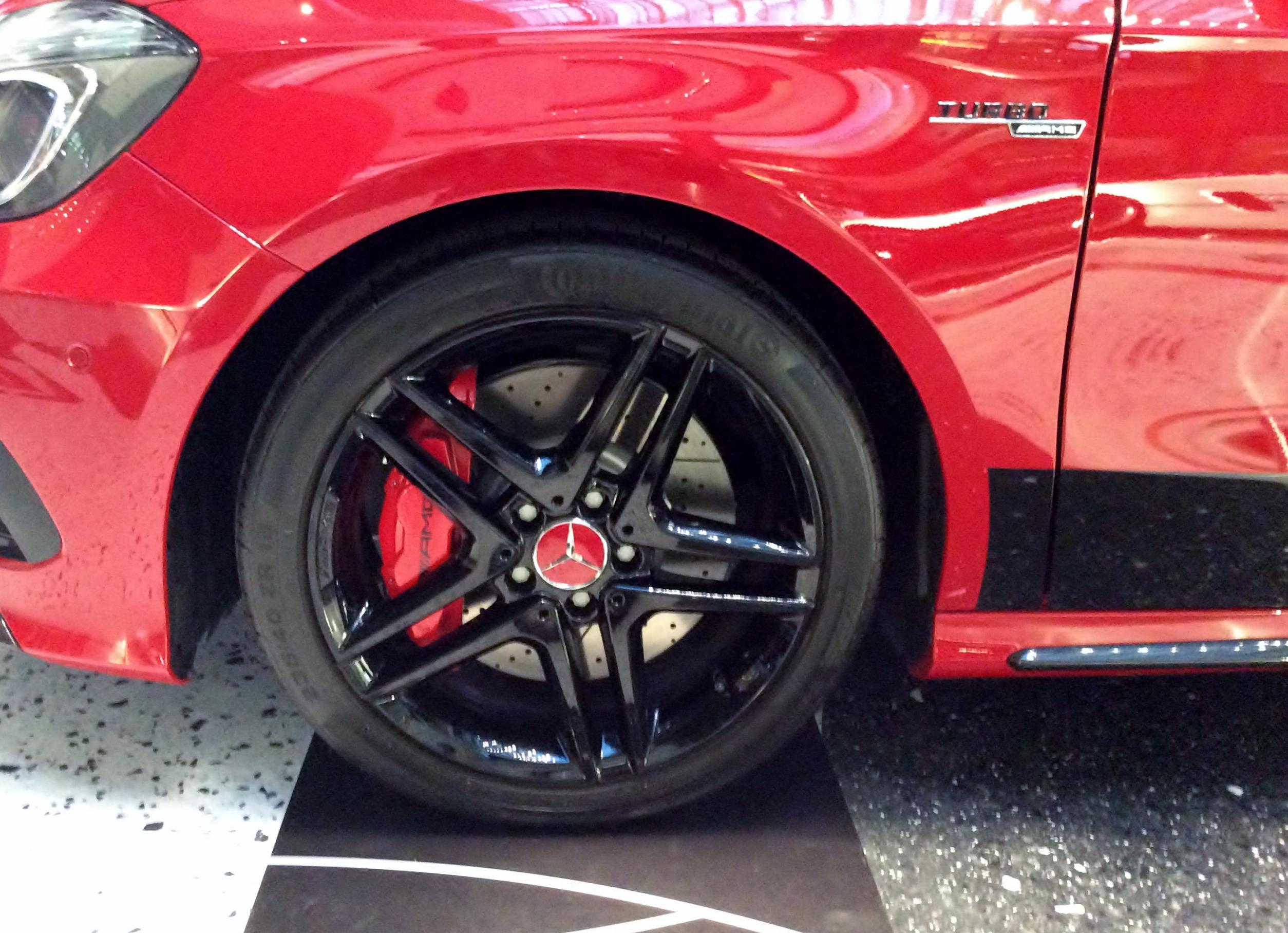 Mercedes Benz Tire Service New Car