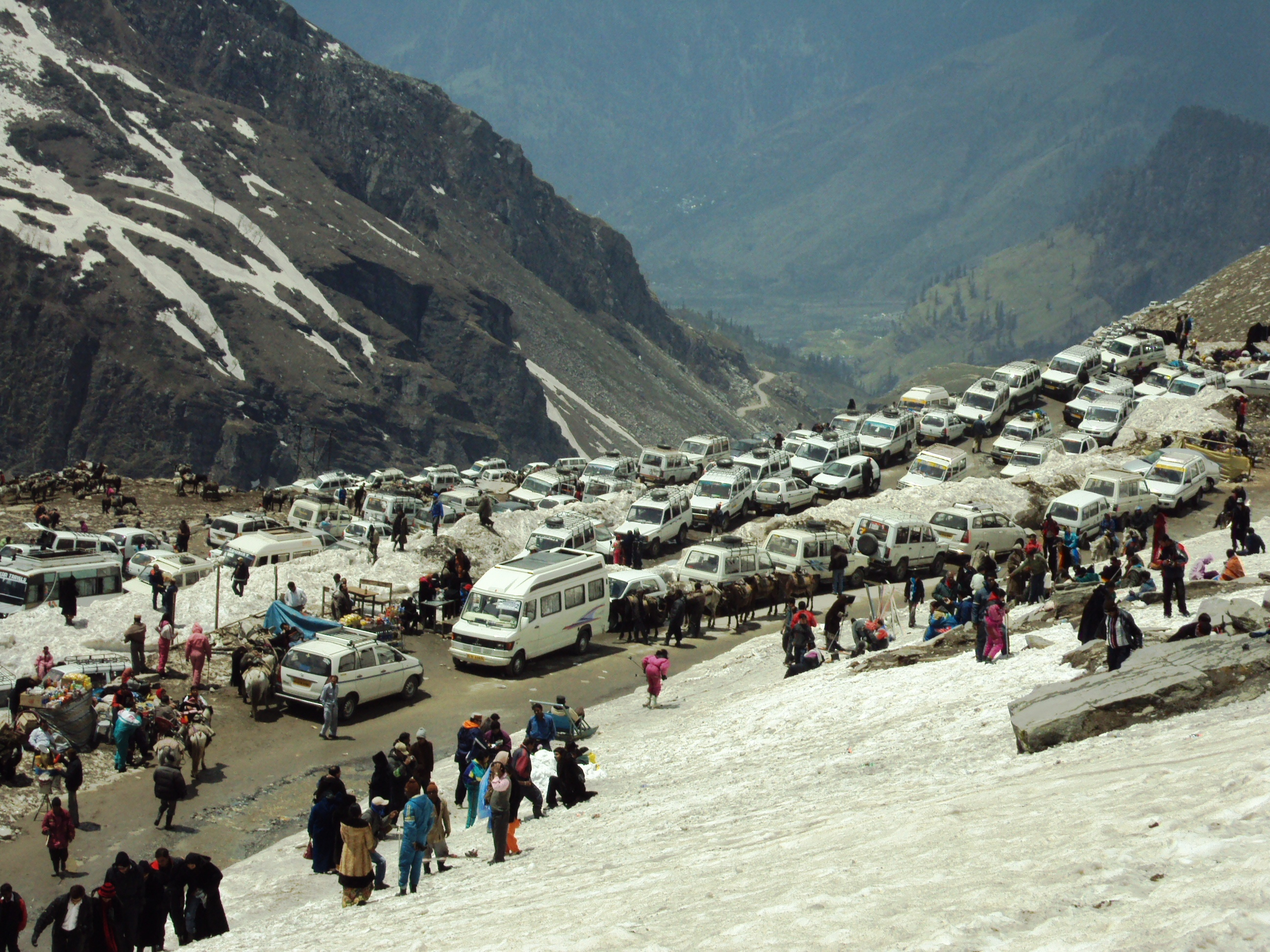 Image result for rohtang pass manali