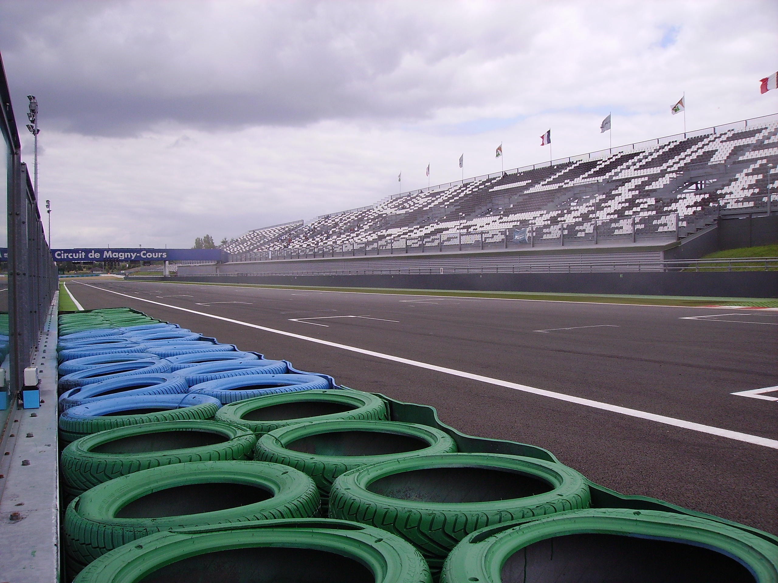 file track near the stands circuit de nevers magny cours. Black Bedroom Furniture Sets. Home Design Ideas