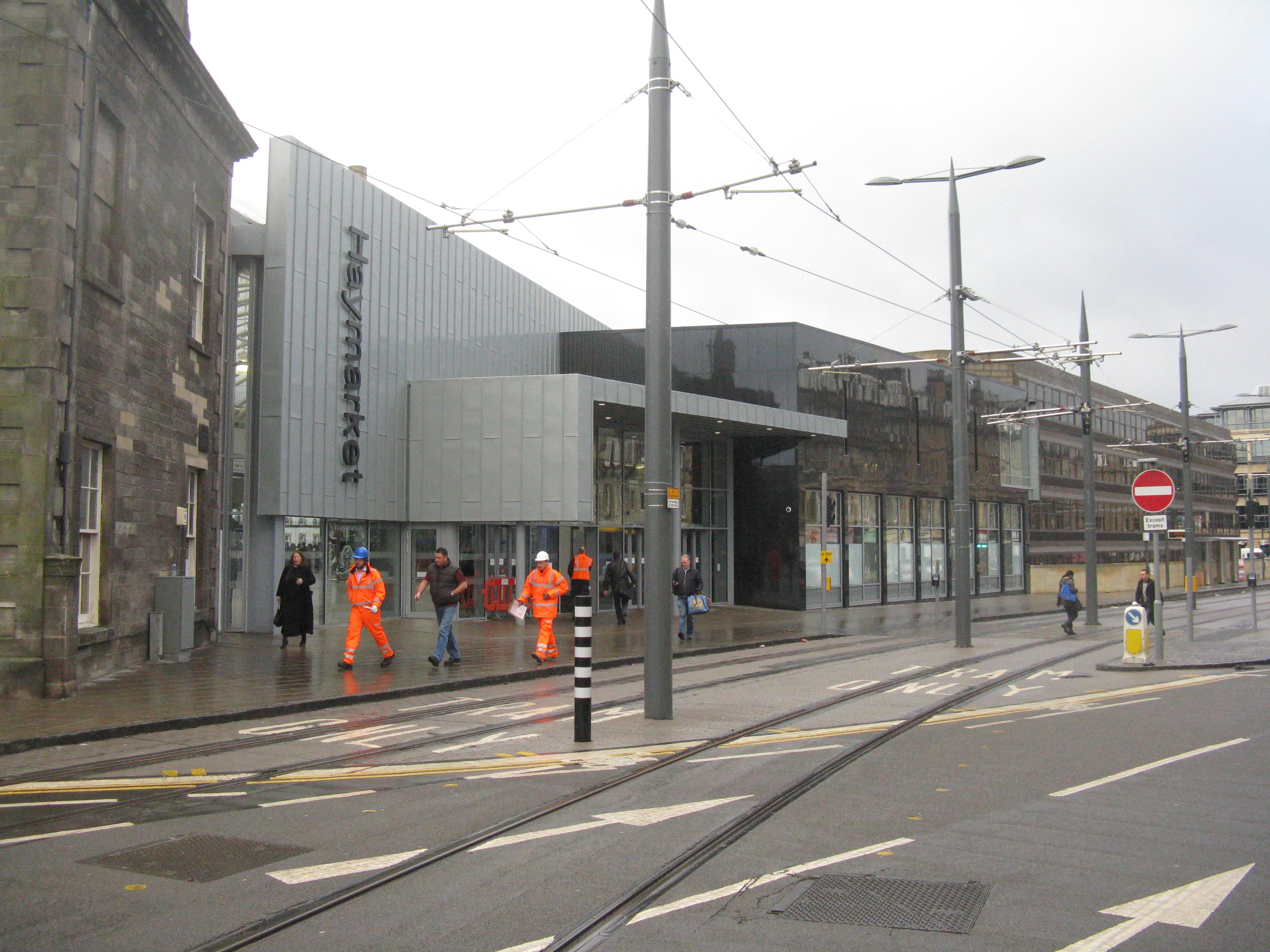File tram tracks at haymarket station for 3 clifton terrace edinburgh