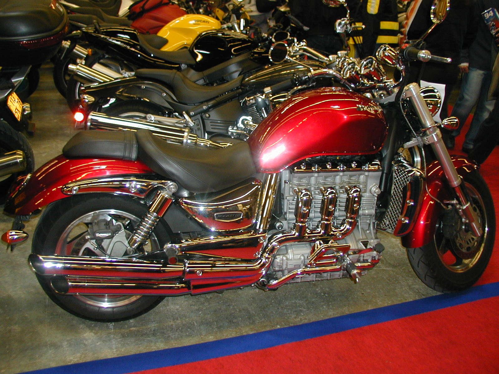 Triumph Rocket  Custom Paint