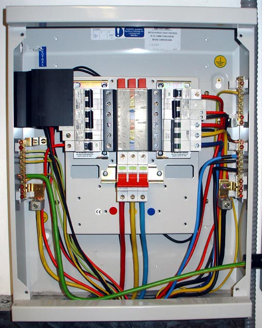 Ukdistributionboard on Sub Panel Breaker Box Wiring Diagram