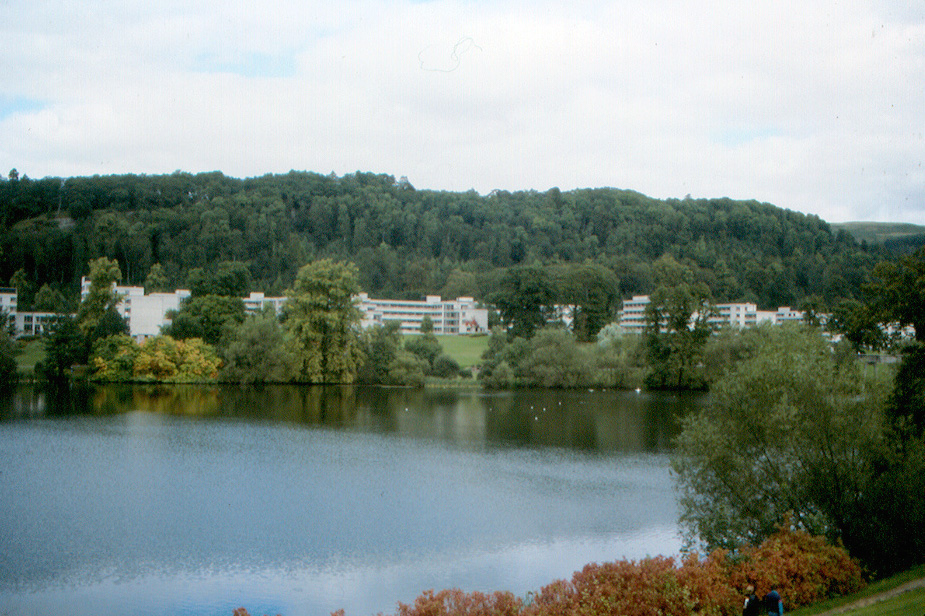 University Of Stirling Student Room
