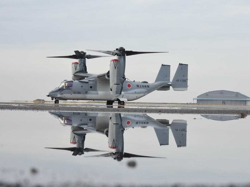 陸上自衛隊V-22 JG-1705