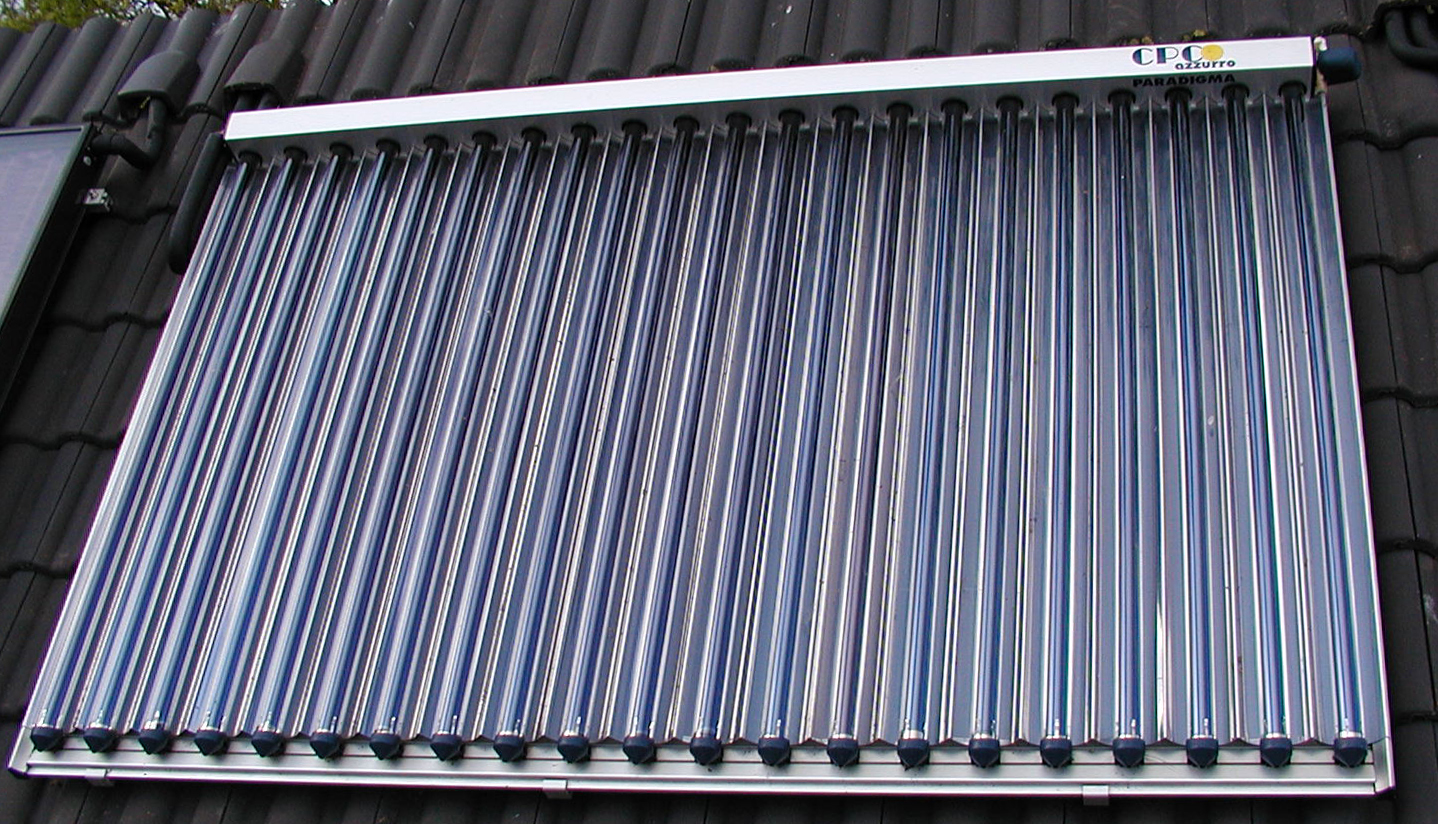 Panel solar de tubos de vac o wikipedia la enciclopedia - Www wayook es panel ...