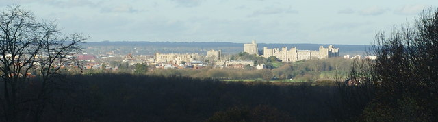View From Windsor Great Park - geograph.org.uk - 1597008