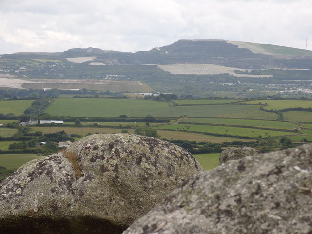View from Helman Tor - geograph.org.uk - 1445819