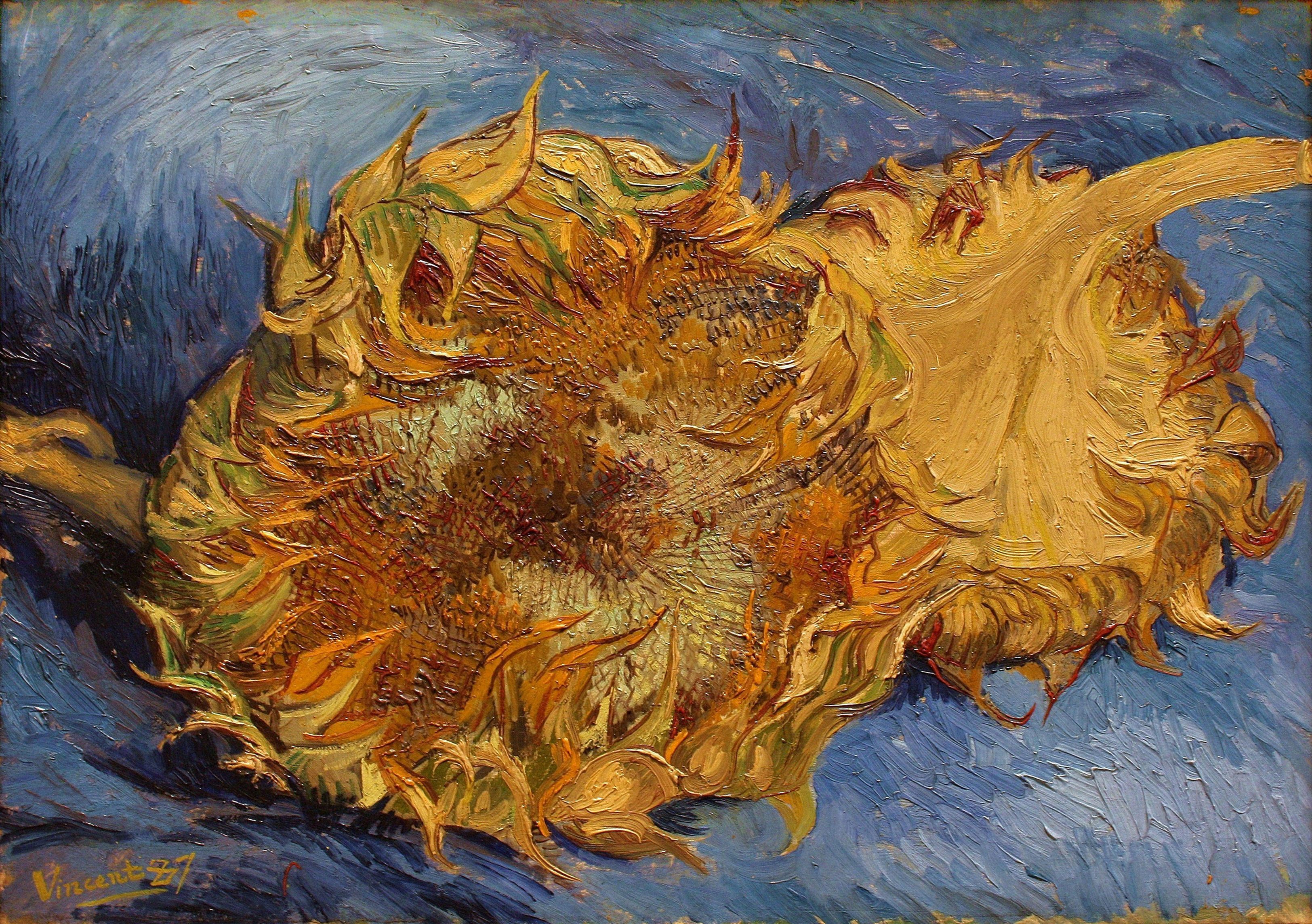 File Vincent van Gogh Sunflowers Metropolitan Museum of Art