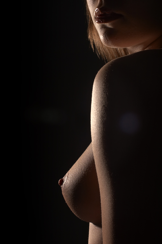naked breast photography