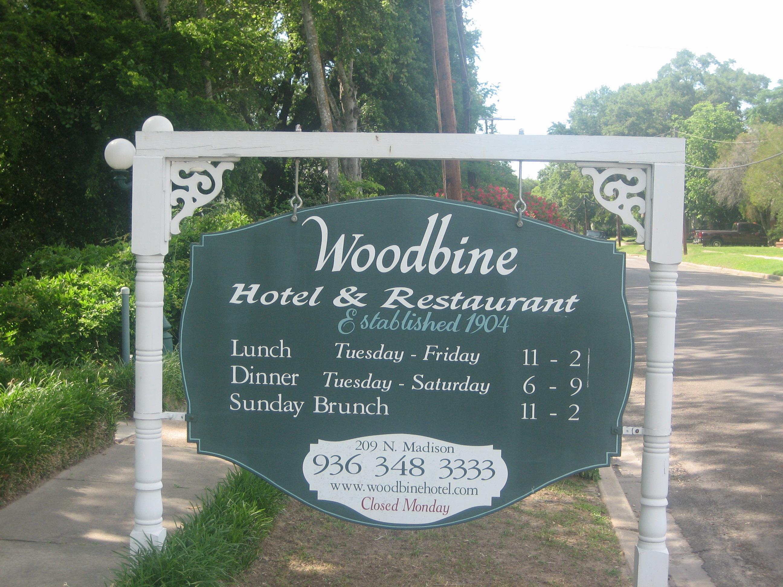 File Woobine Hotel Sign Madisonville Tx Img 1018 Jpg