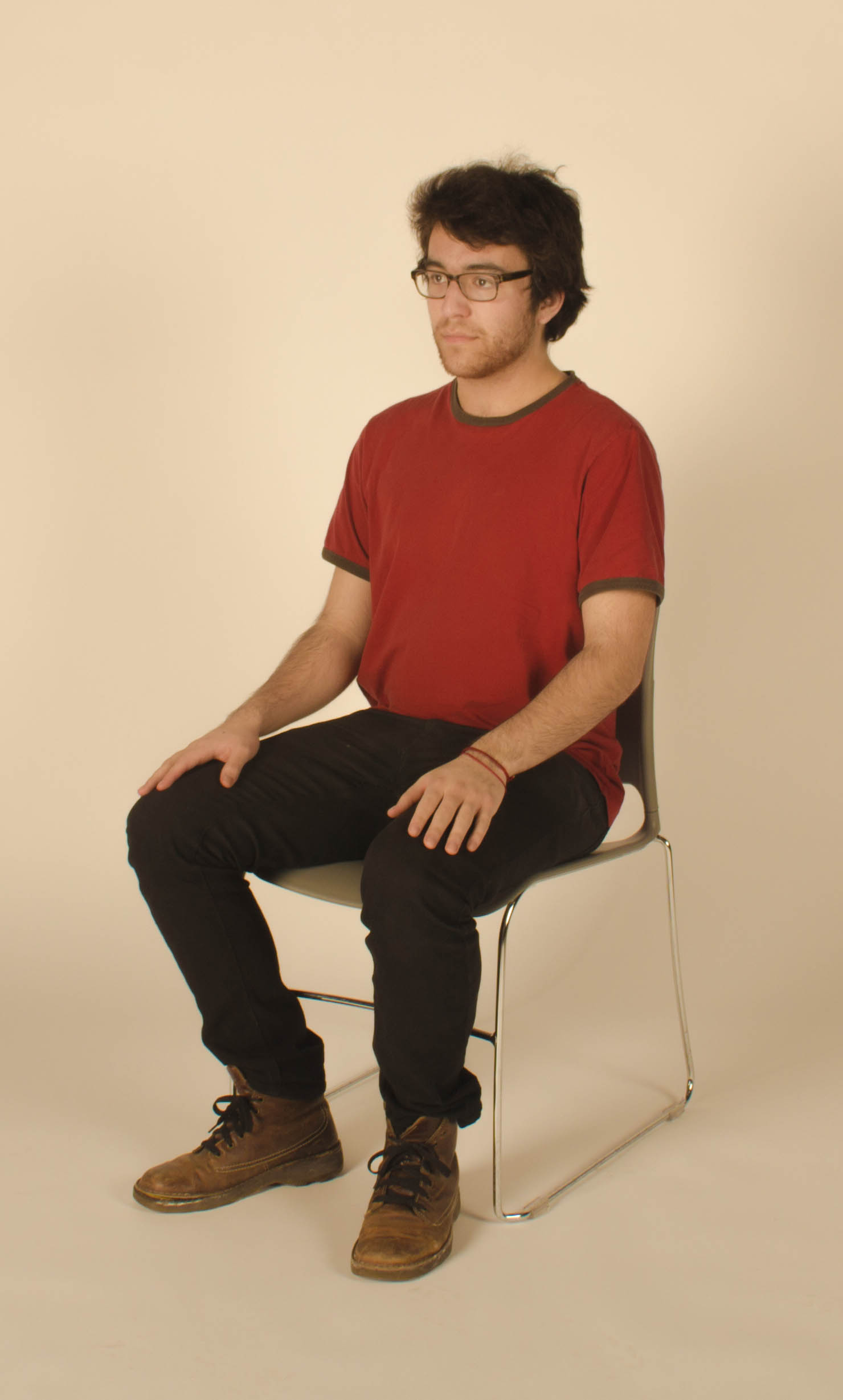Chair For Reading File Young Man Sitting In A Chair Feb 2014 Jpg