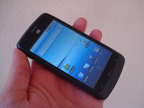 send zte blade wiki disatisfied with the