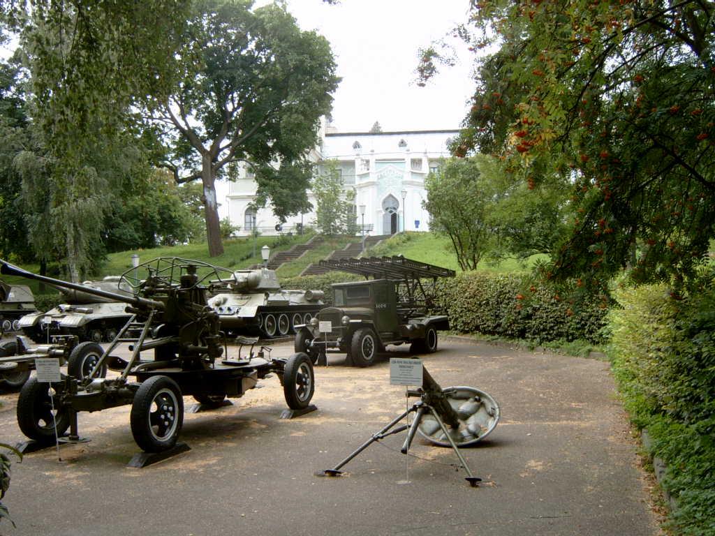 Military museum at Korsun