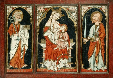 file:'the barnabas altarpiece', southwestern french or