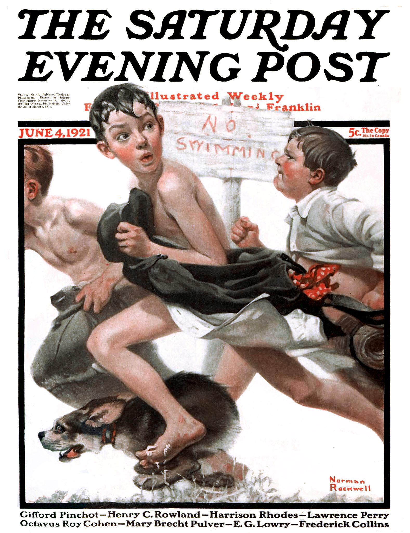 File:1921-6-4 No Swimming - Norman Rockwell.jpg