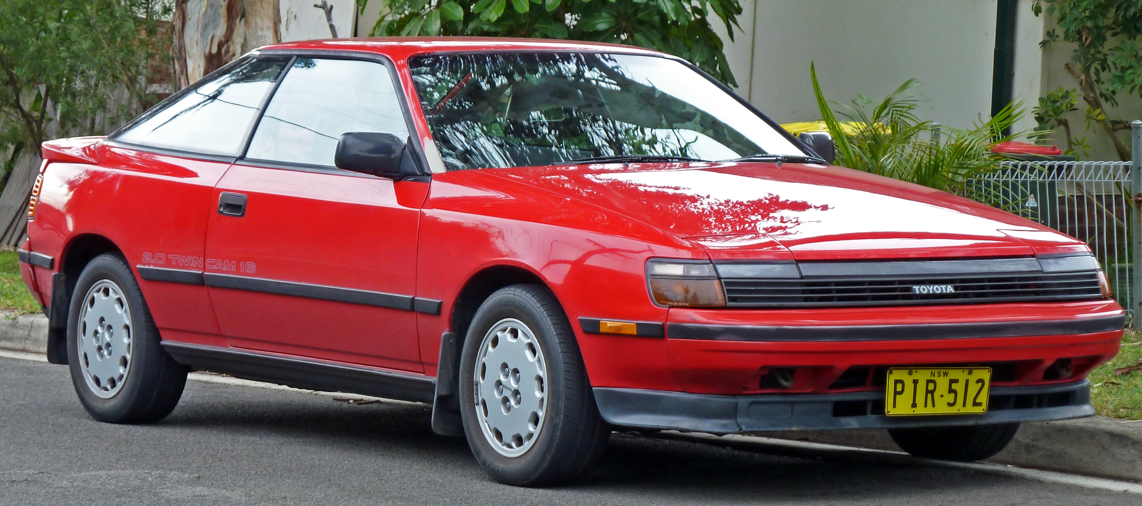 1989 Toyota Celicaon 1982 Toyota Corolla