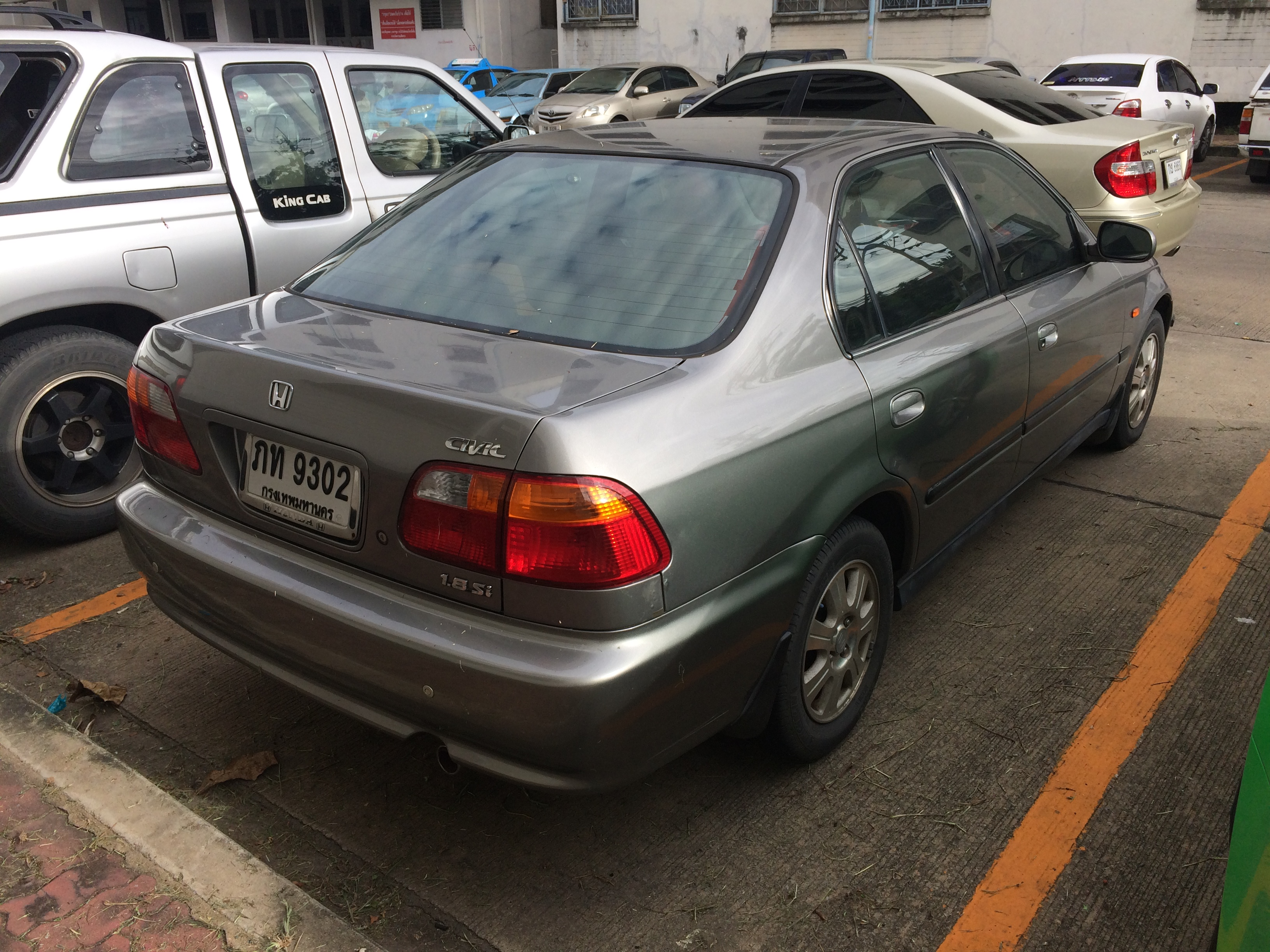 File:1998 1999 Honda Civic (EK) 1.8 Si Sedan (19
