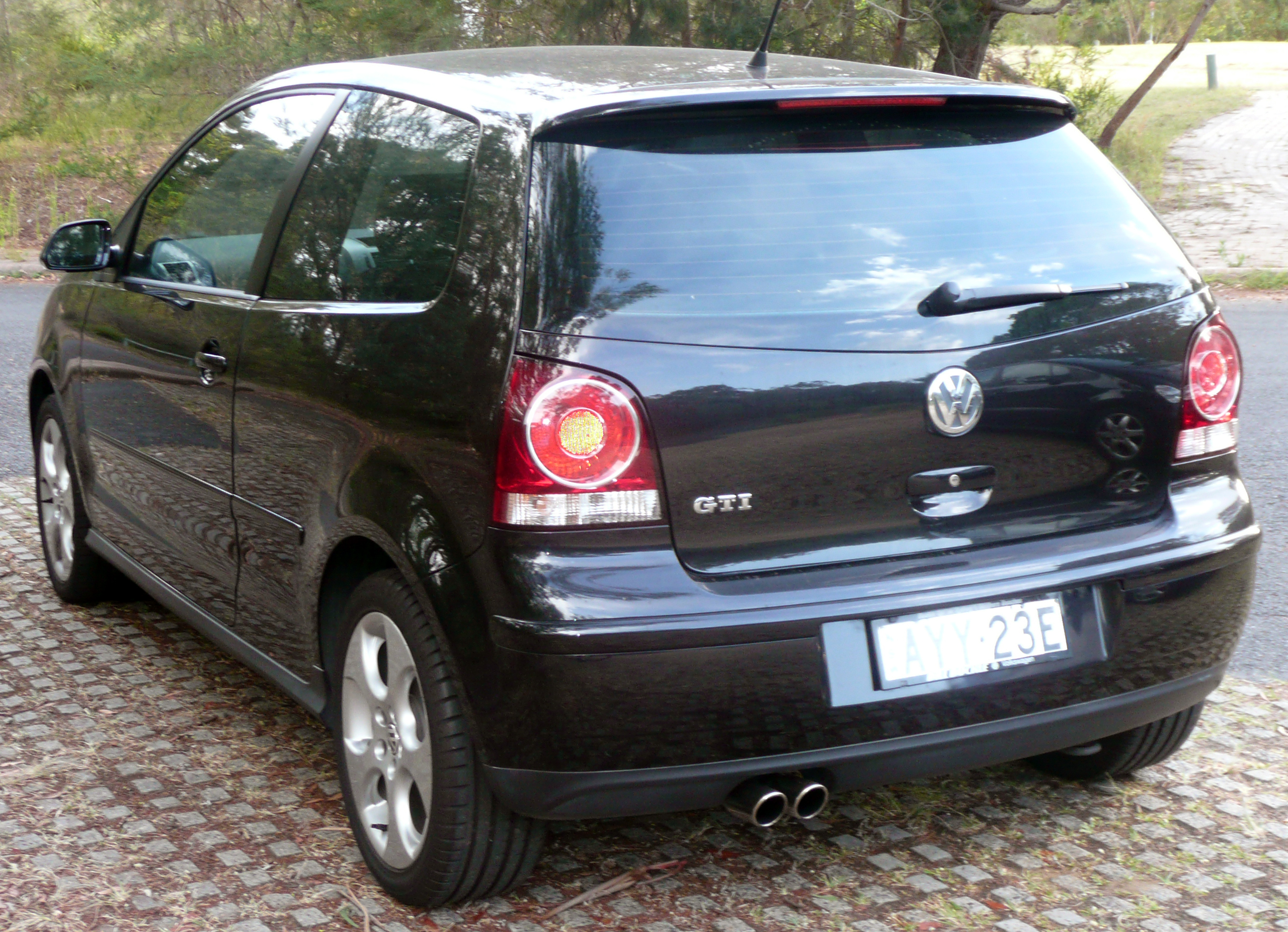 file 2005 2008 volkswagen polo 9n3 gti 3 door hatchback wikimedia commons. Black Bedroom Furniture Sets. Home Design Ideas