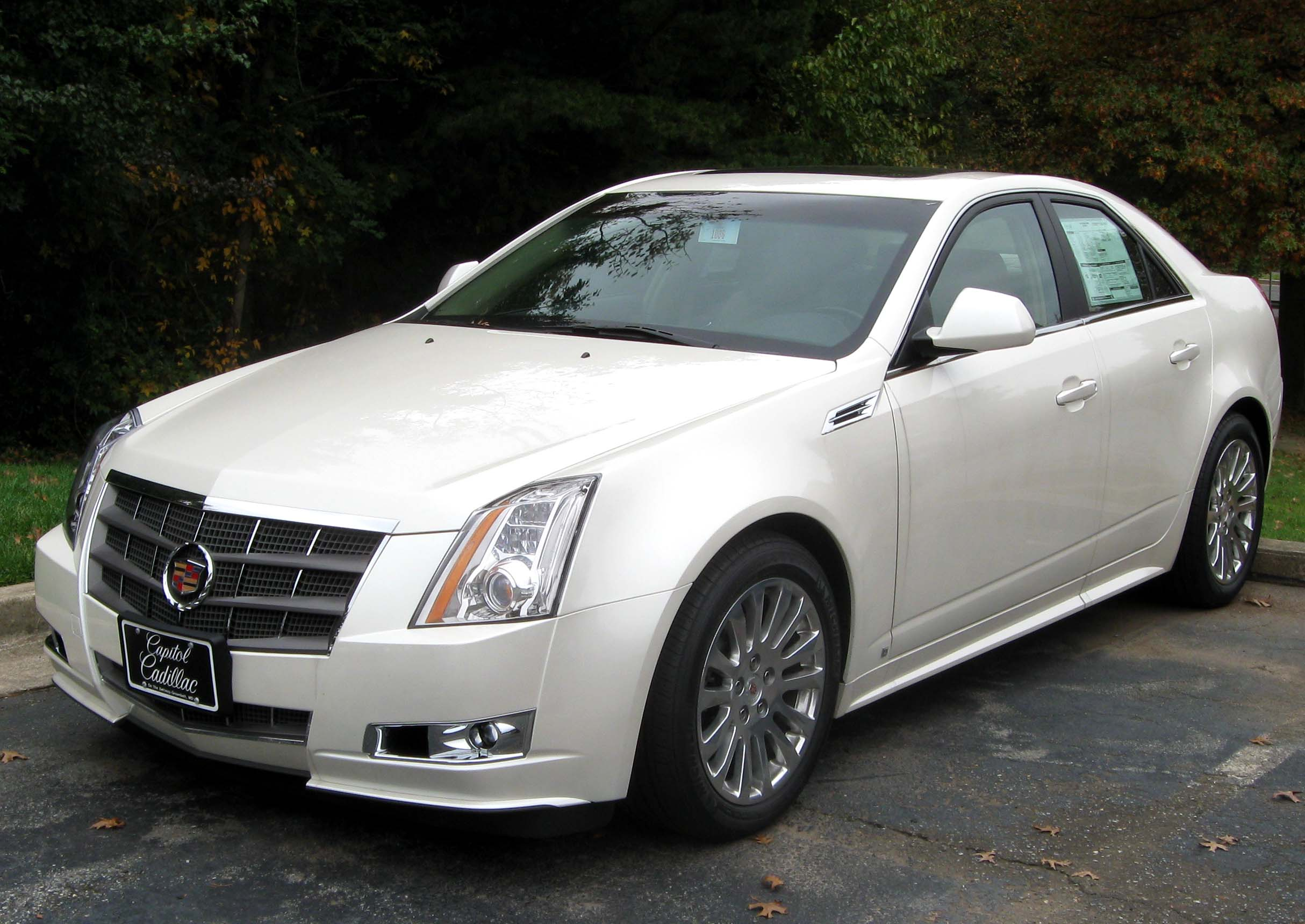 File2010 Cadillac CTS sedan  10302009jpg  Wikimedia Commons