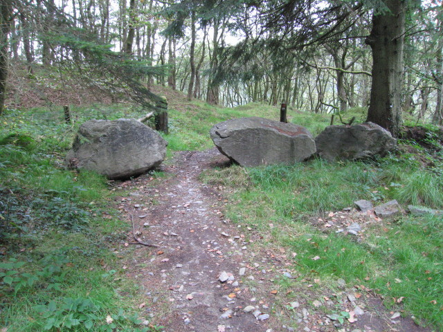 File:A boulder barrier - geograph.org.uk - 1496334.jpg ...