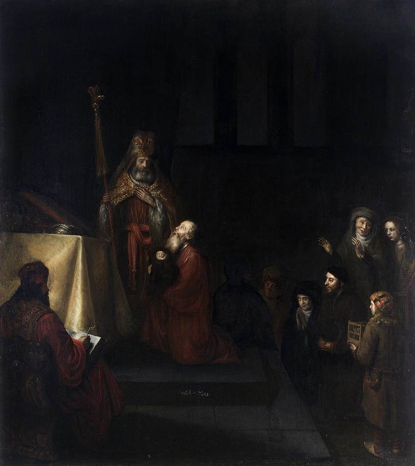 Abraham van Dijck - Presentation in the Temple - WGA06341.jpg