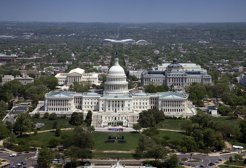 Fileaerial View United States Capitol Building V Jpg Wikimedia Commons