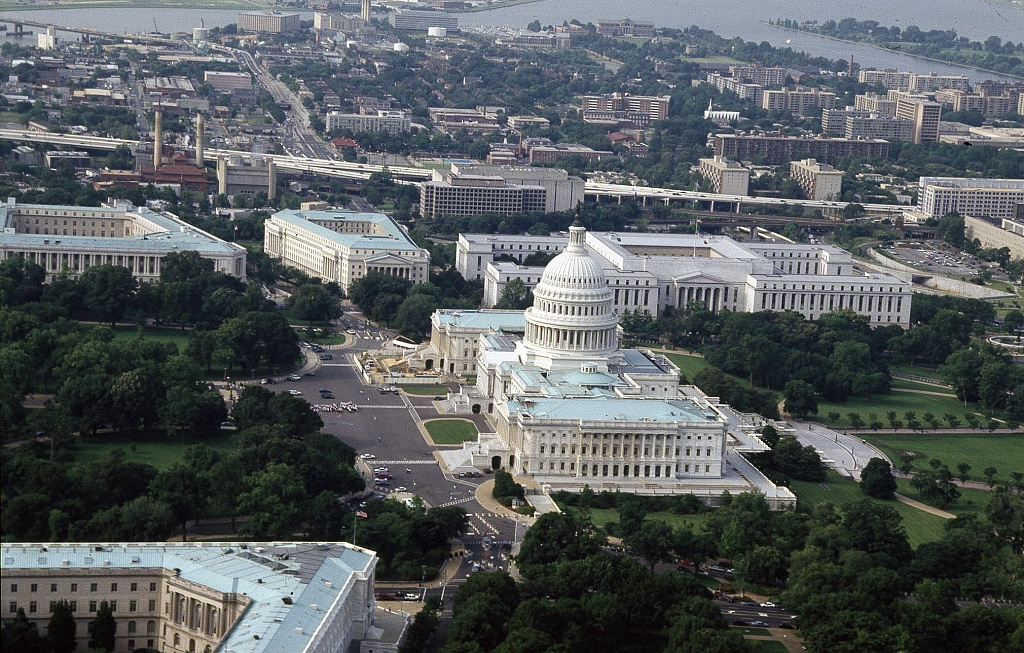 Aerial Photos Of White House And Capitol Building
