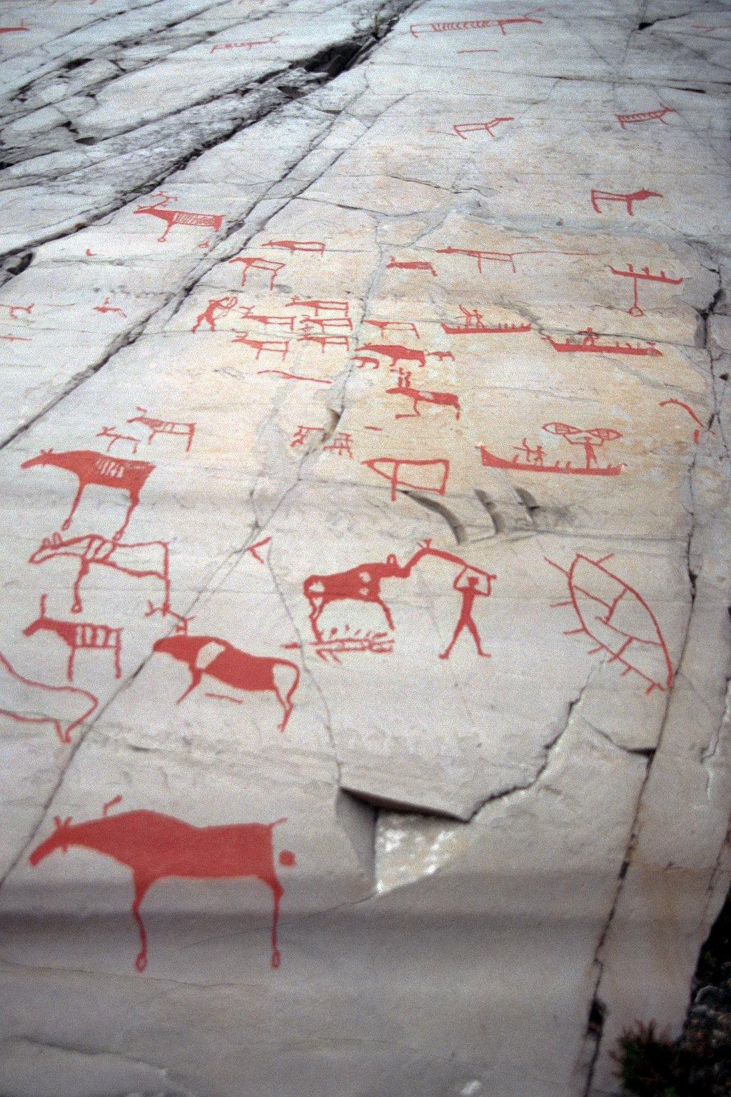 Rock carvings at alta wikidata