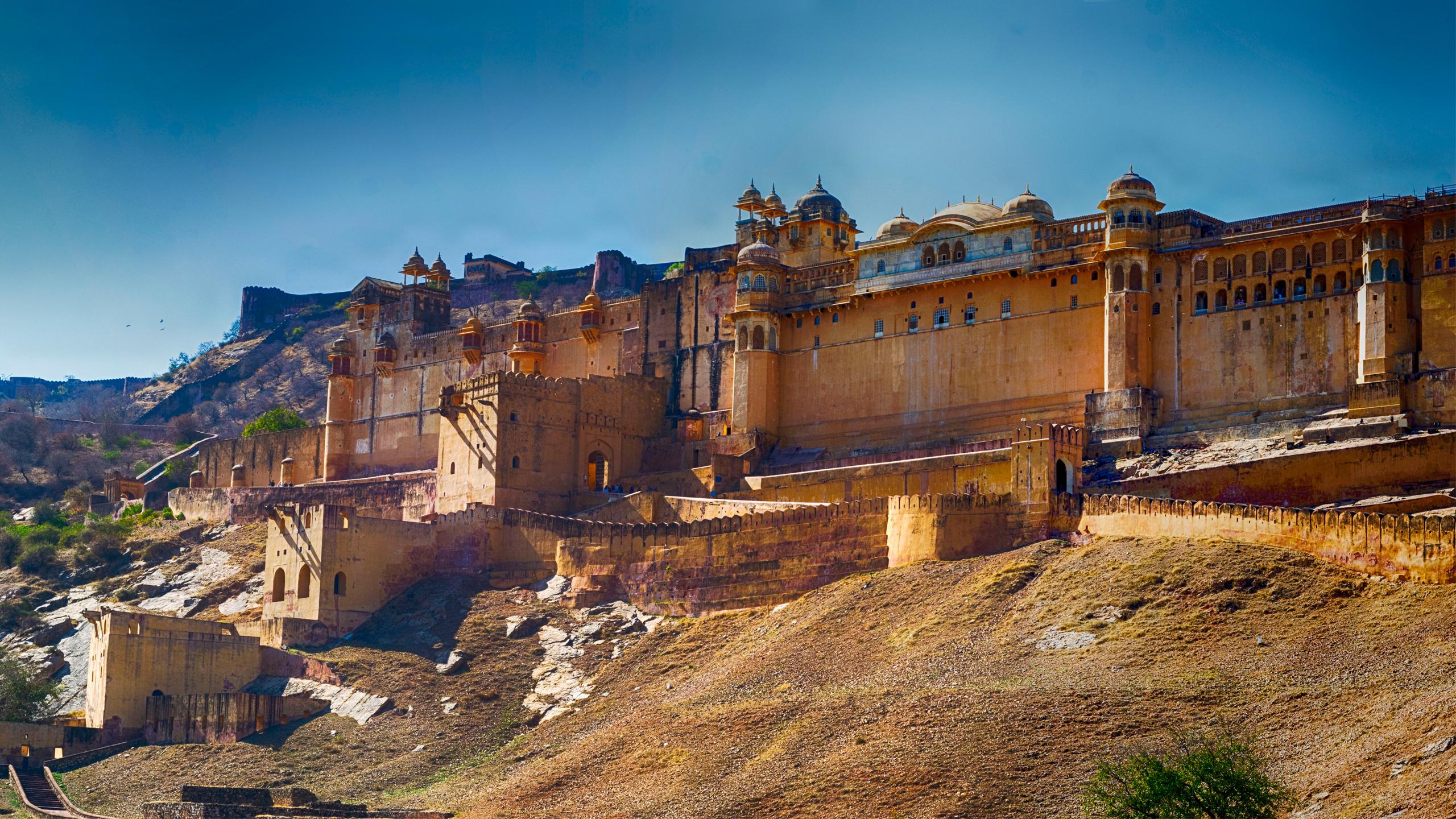 ผลการค้นหารูปภาพสำหรับ Amber Fort panorama