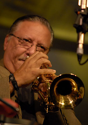 Two-time award winner Arturo Sandoval, performing in 2008 Arturo Sandoval photo.jpg