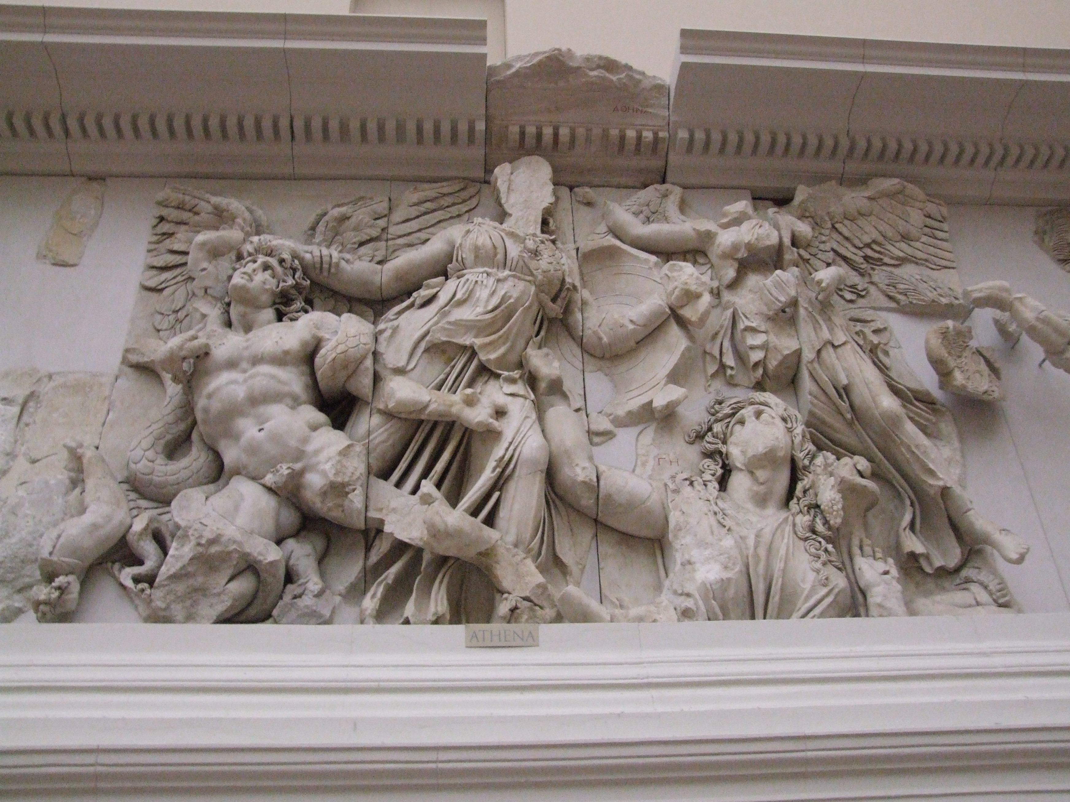 File:Athena contra Alkyoneus, Nike.JPG - Wikimedia Commons