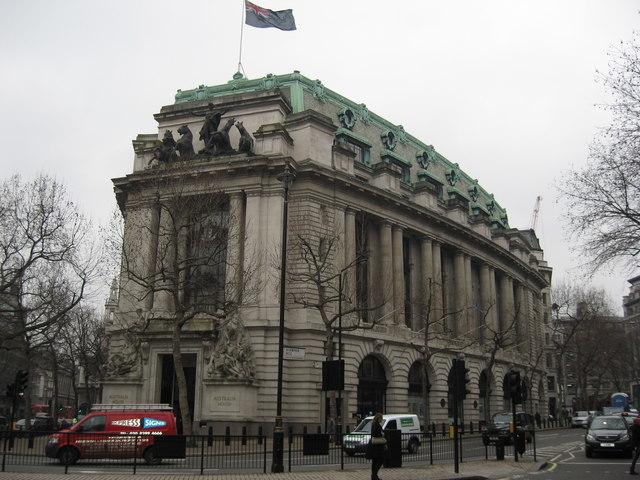 Australia House, London - geograph.org.uk - 1660581