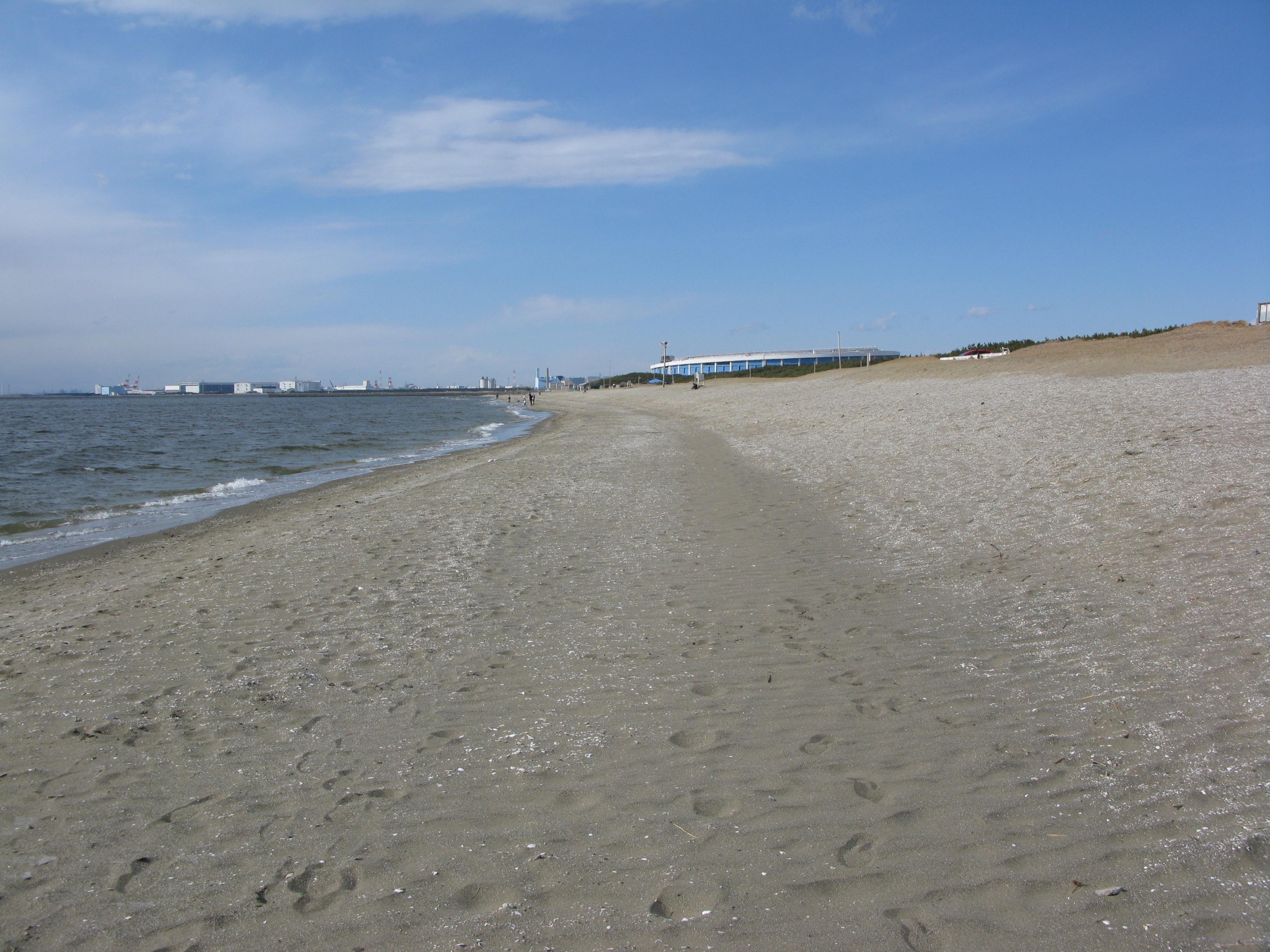 ファイル beach at makuhari chiba japan jpg wikipedia