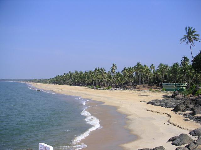 Bekal Fort Beach, Kerala.