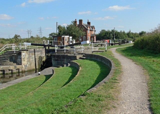 Bishop Meadow Lock - geograph.org.uk - 552322