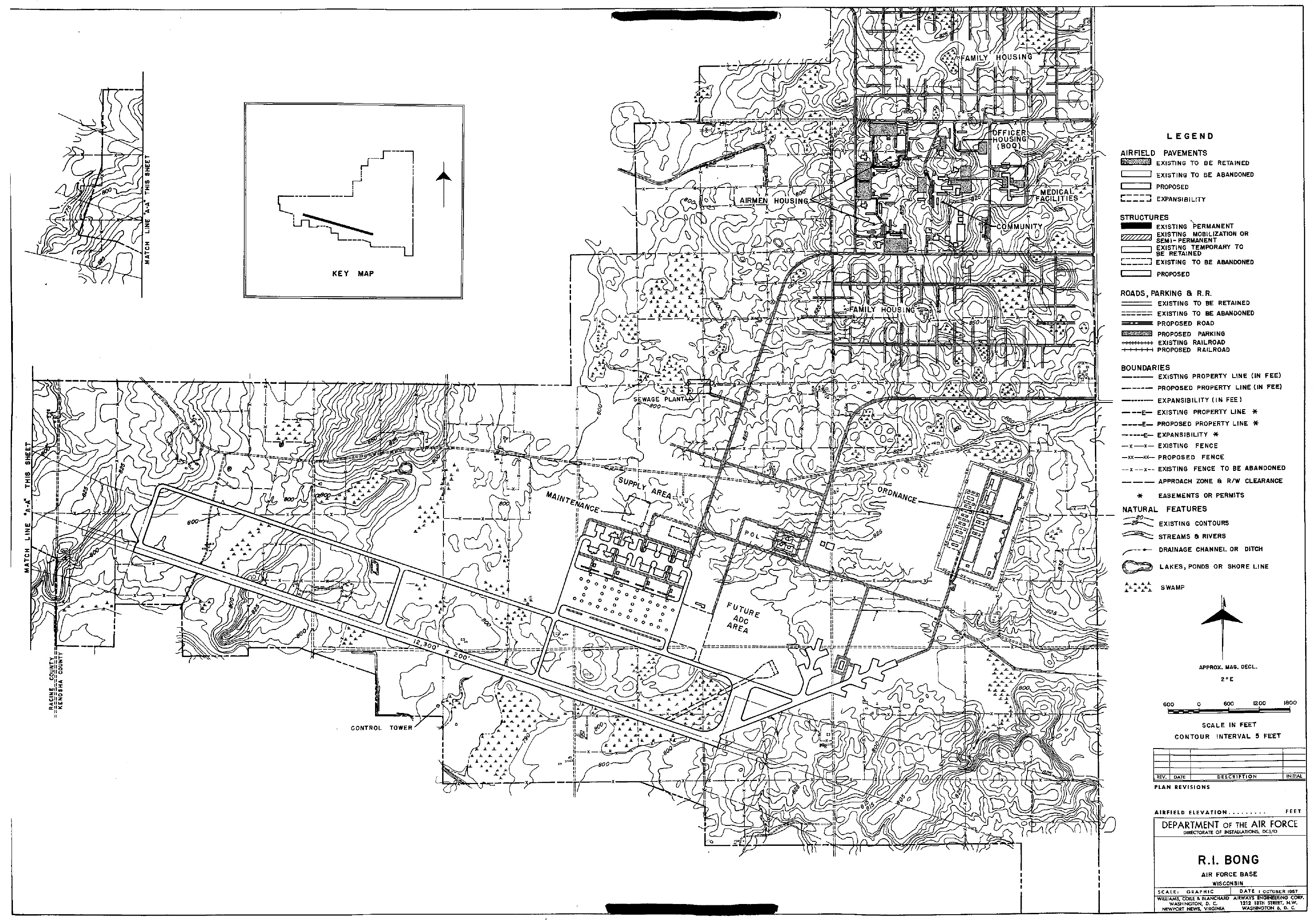Tinker Afb Map Building