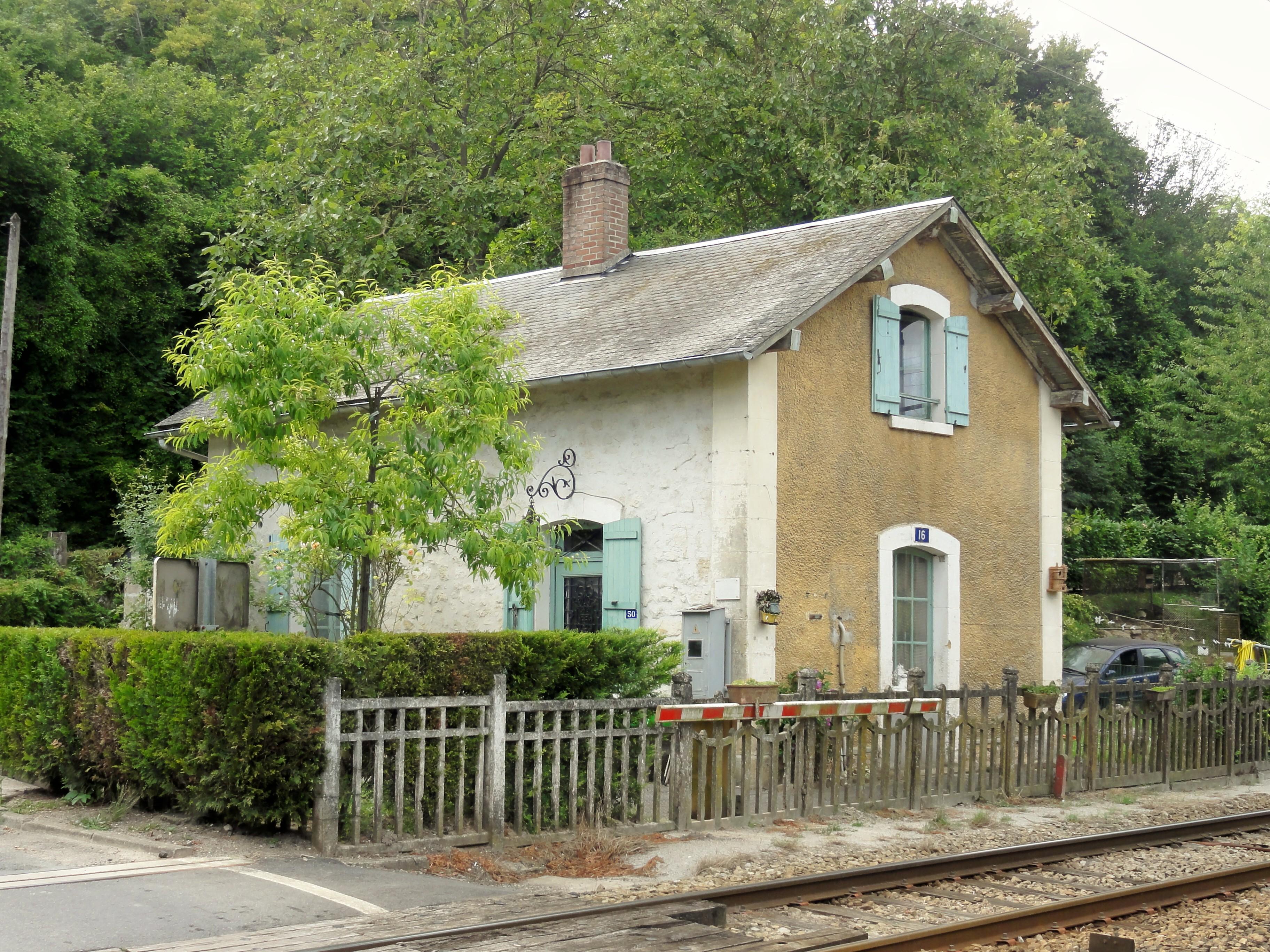 Barriere Maison file:brignancourt (95), maison de garde-barrière, rue de la viosne