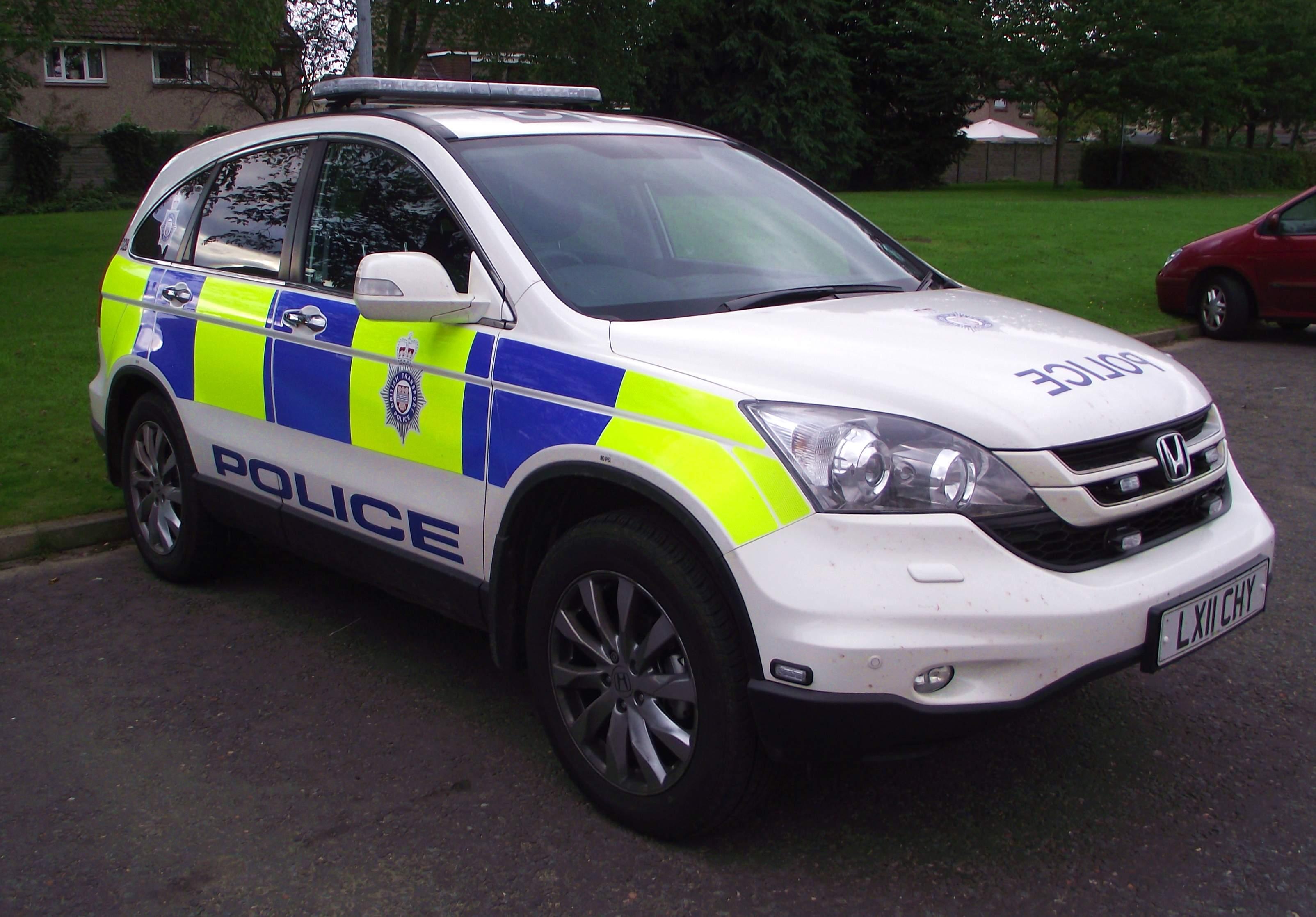 Police honda autos post - British transport police press office ...