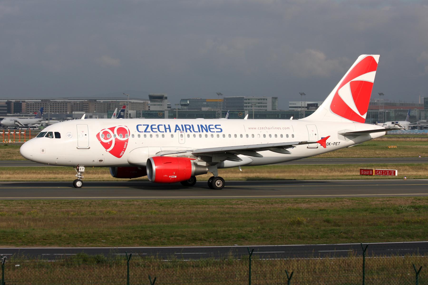 Bildresultat för csa czech airlines airbus a319