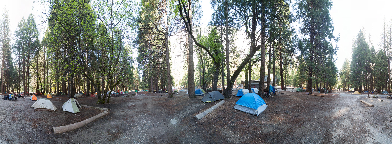 Full hookup campgrounds near yosemite