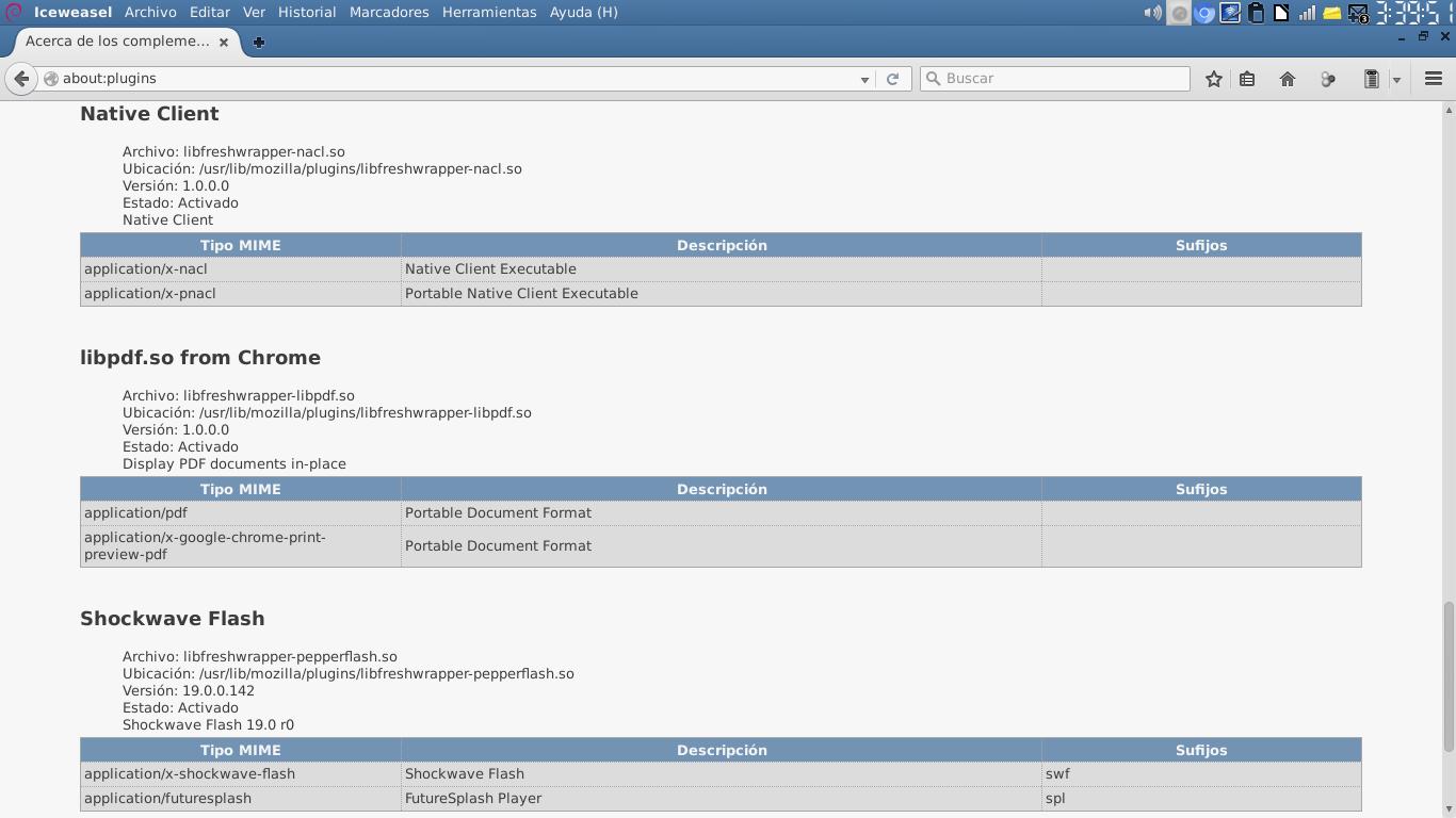 File:Captura de Iceweasel 41 mostrando about-plugins - Fresh Player
