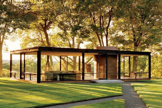 la casa de cristal arquitectura