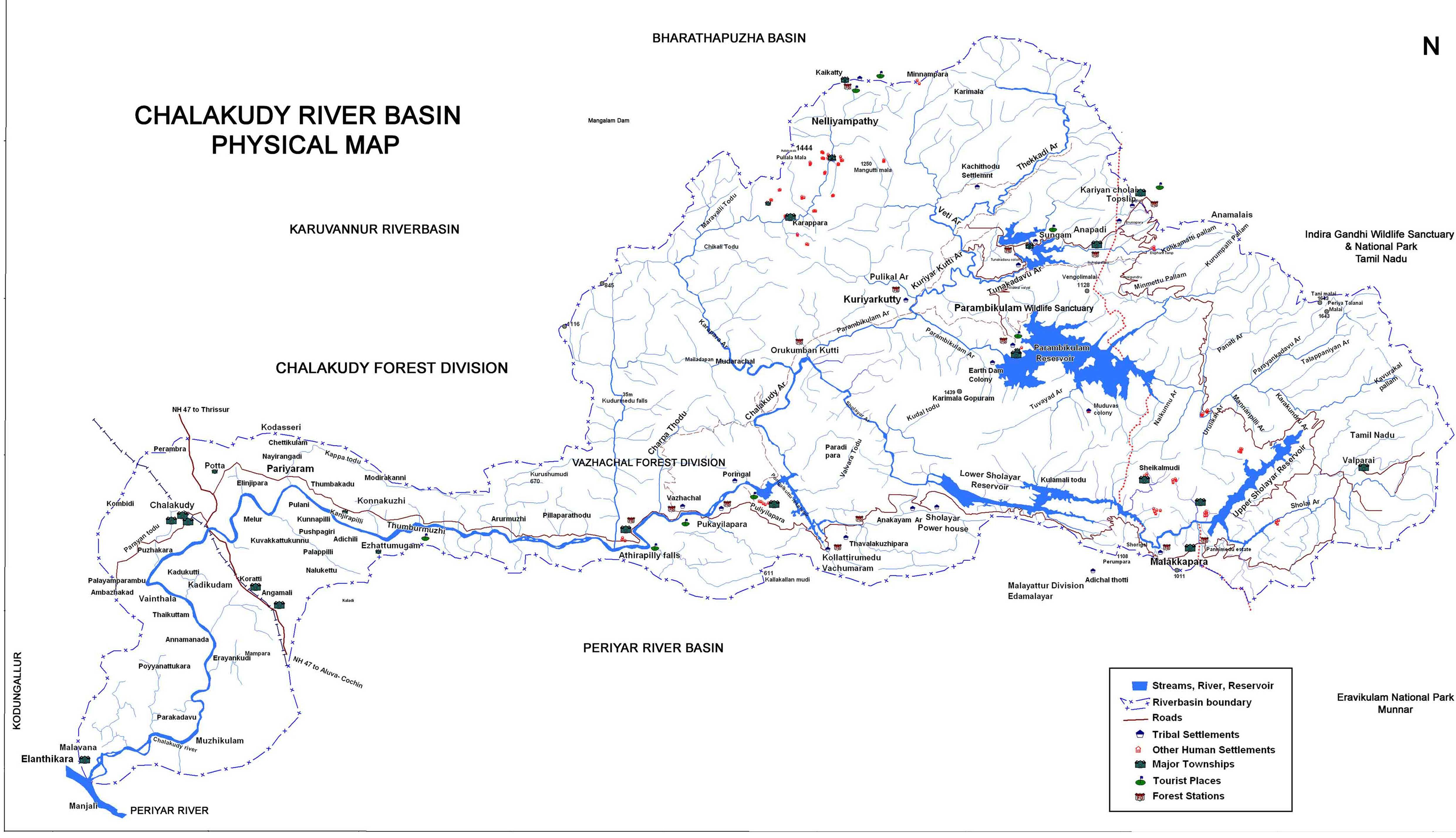 FileChalakudy River Basin Mapjpg  Wikimedia Commons