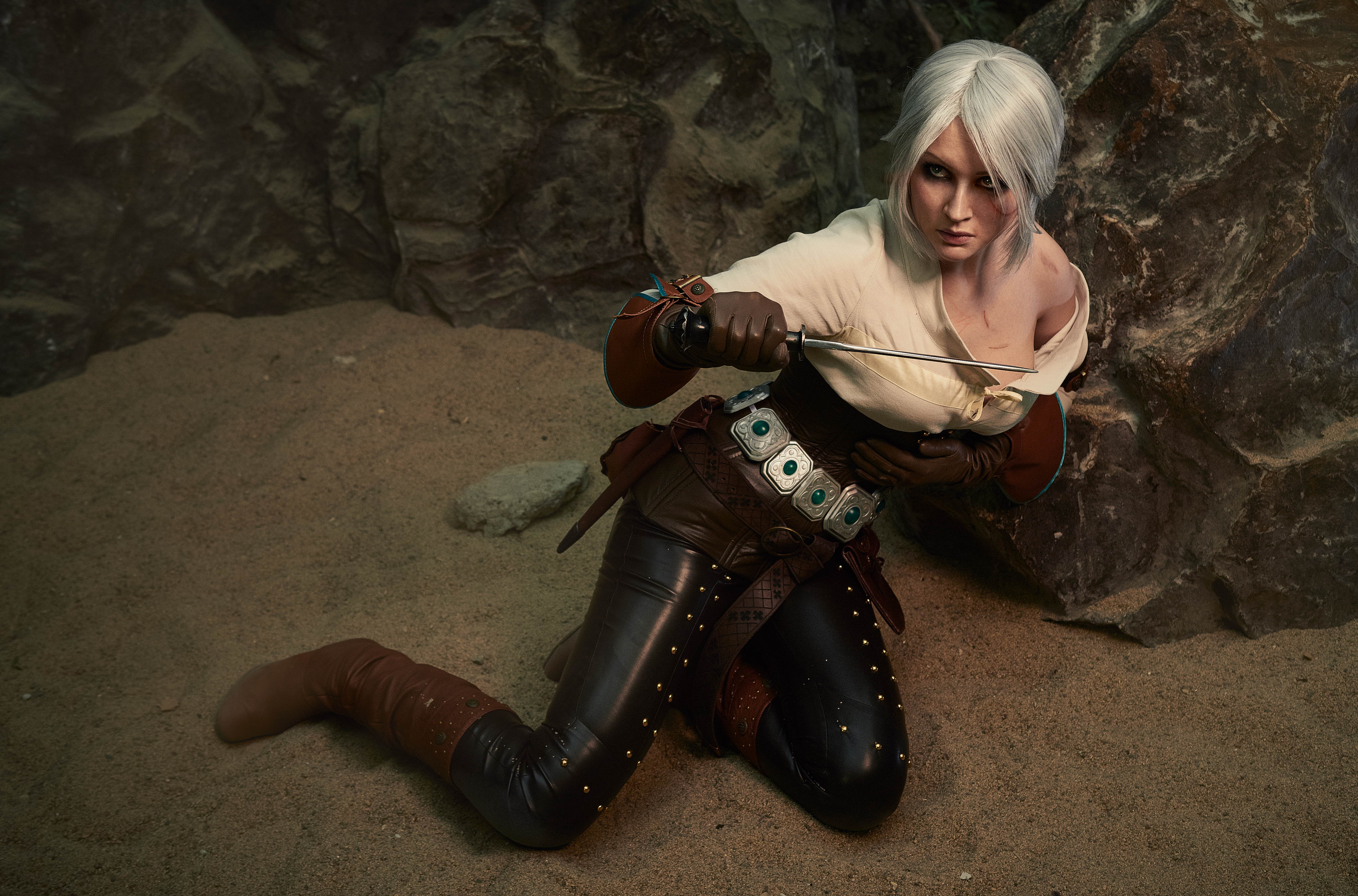 how old is ciri in the witcher